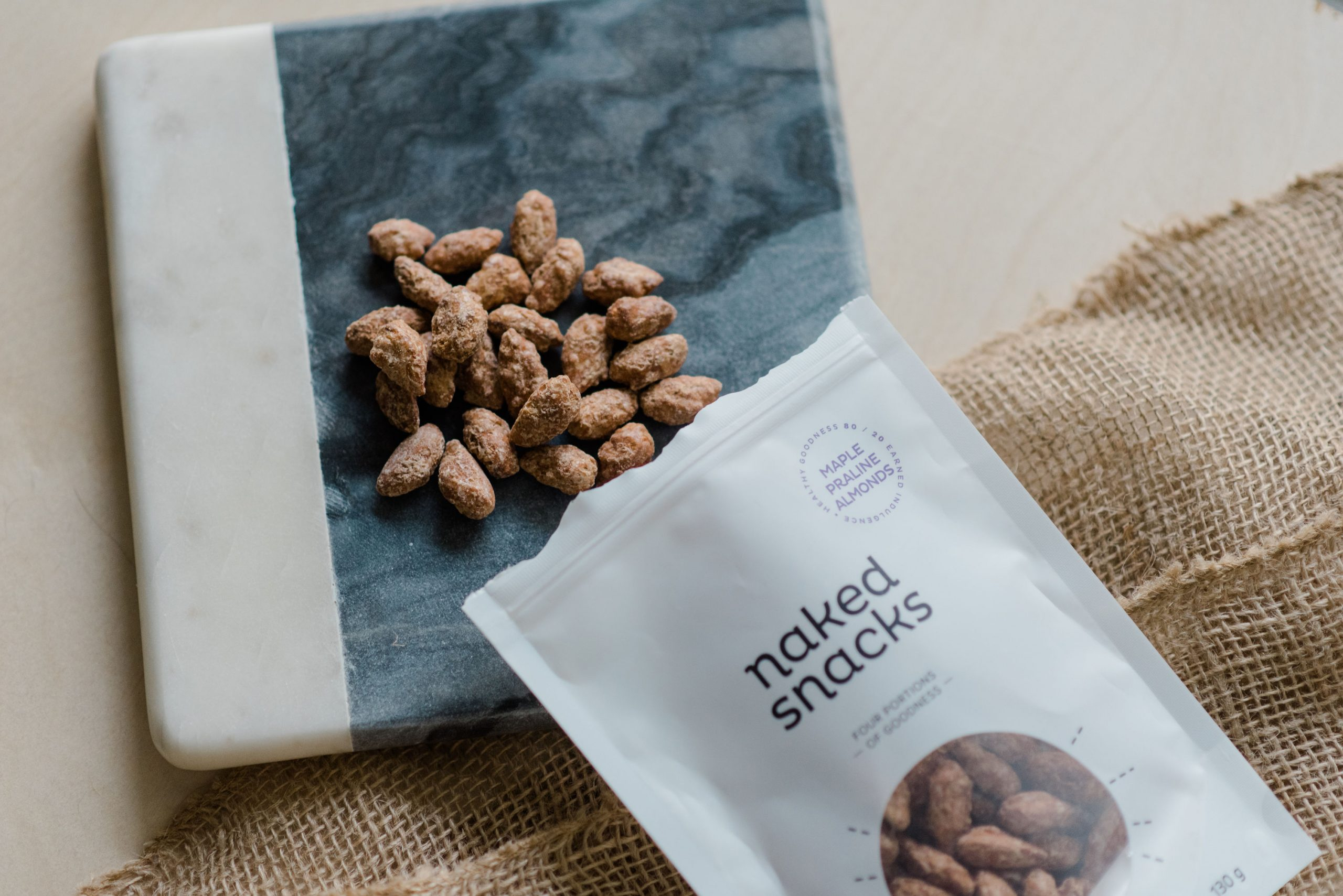Naked Snacks Maple Praline Almonds