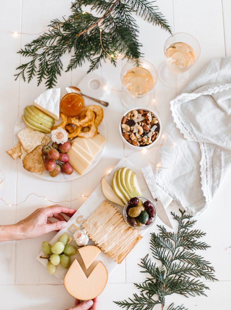 Holiday flatlay featuring Keep it Fraiche snack