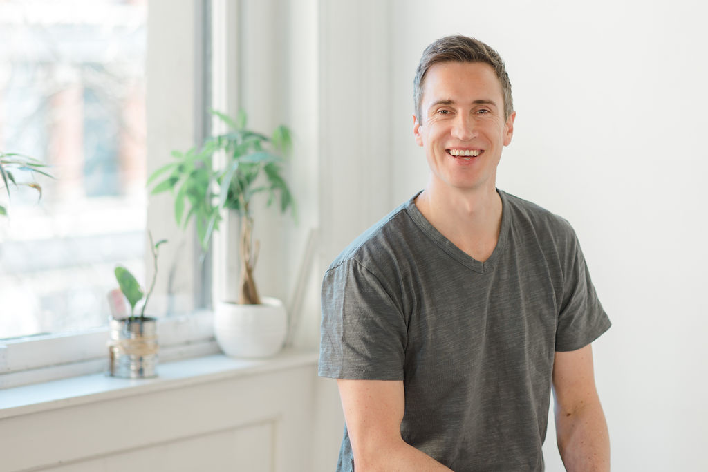 Neil Thomson, founder and CEO of Laid Back Snacks