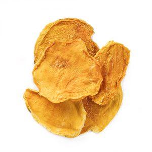 sunshine mango snack mix made of 100% organic dried mangoes