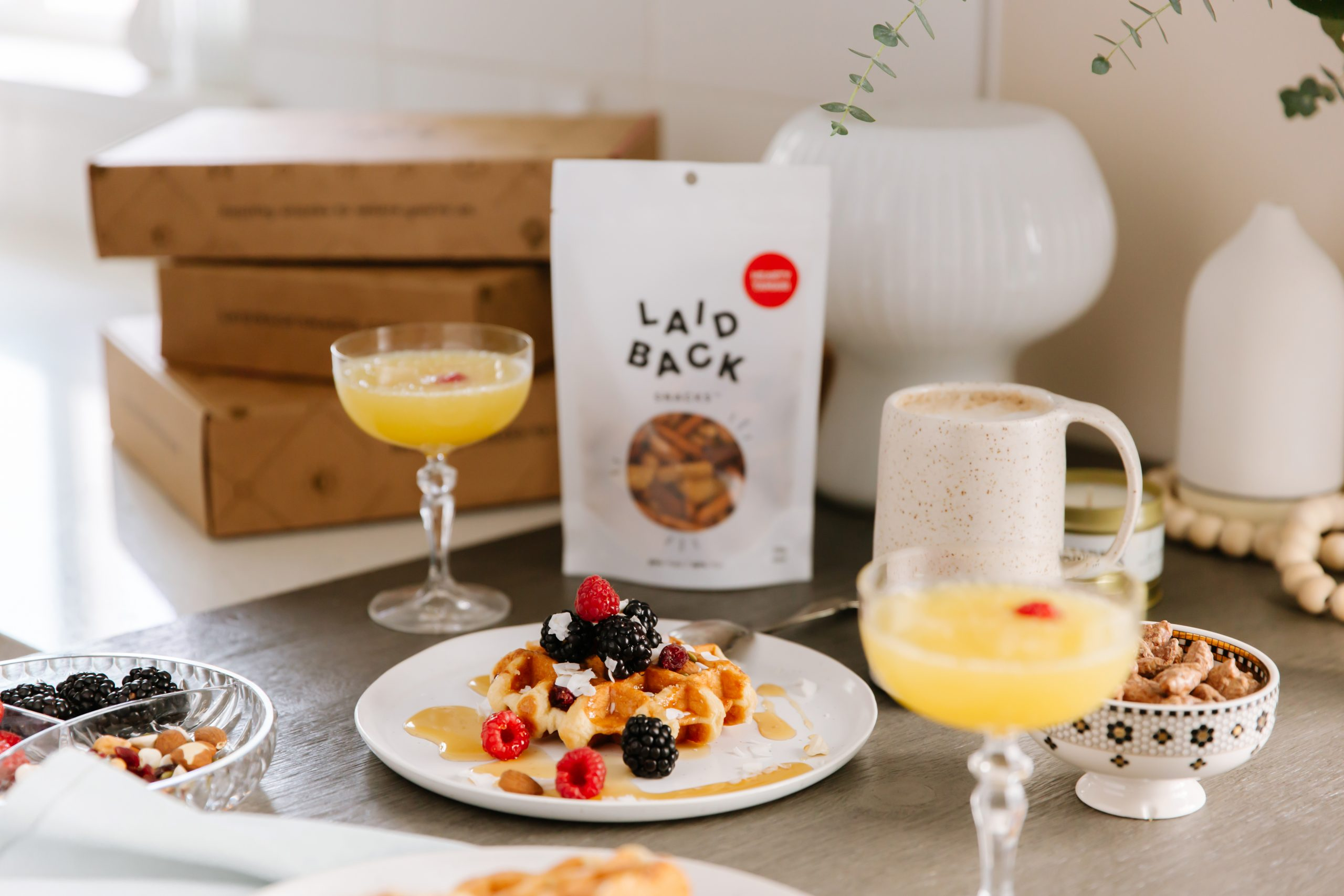 Laid Back Snacks Brunch Idea for Mother's Day