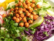 Laid Back Snacks Roasted Chickpea bowl