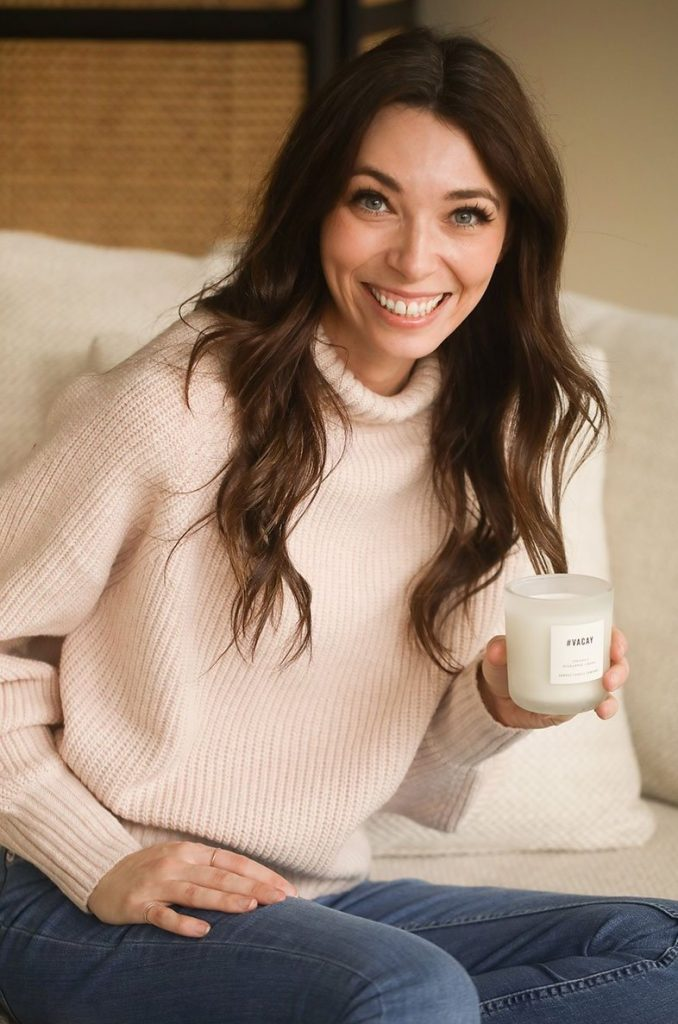 Caylen from Canvas Candle Company interviewed by Laid Back Snacks